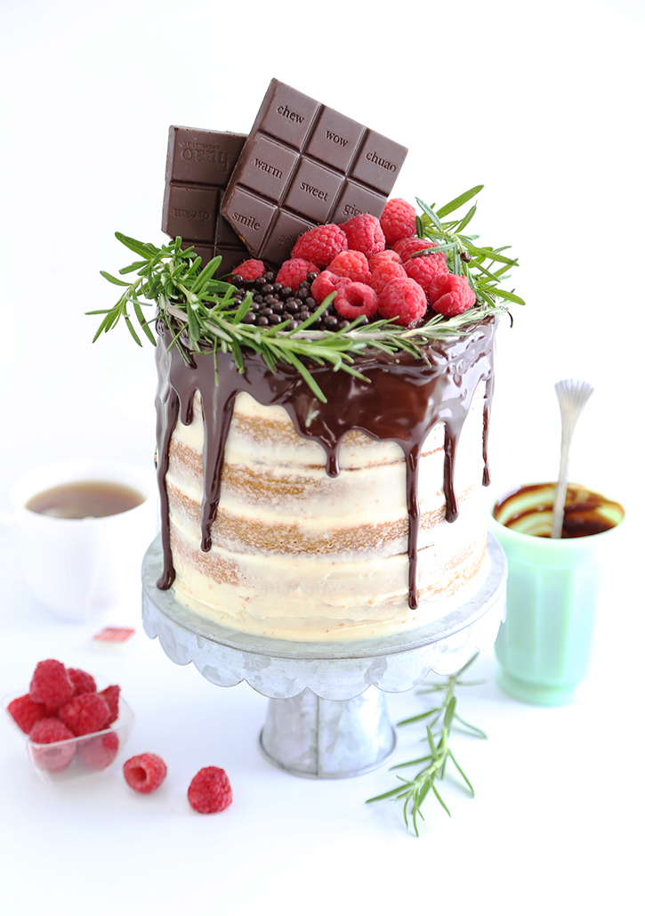 Chai Honey Cake
