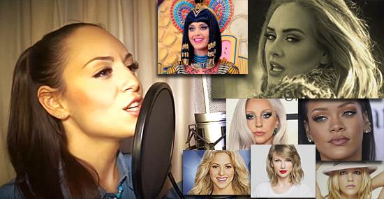 1 garota e 13 vozes - Jenny Marsala surpreendeu o mundo - Capa