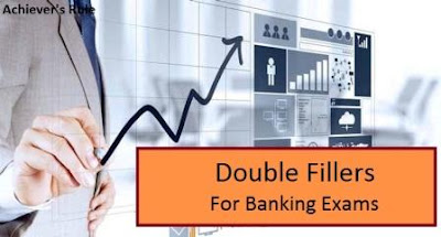 English Quiz Test - Double Fillers for IBPS Exams