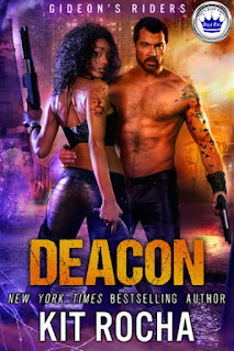 romance novel covers, dystopian romance, Royal Pick, Deacon by Kit Rocha