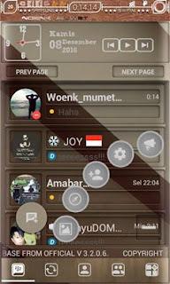 BBM MOD Manual Ala WM Apk v3.2.0.6 Full Picture Unclone Terbaru