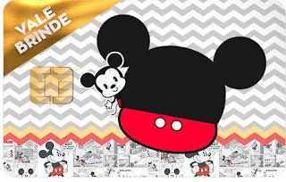 Mickey Vintage Bebé: Etiquetas para Cand Bar para Imprimir Gratis.