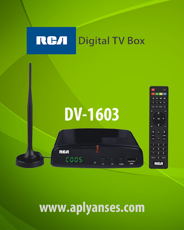 RCA DIGITAL TV BOX DV1603
