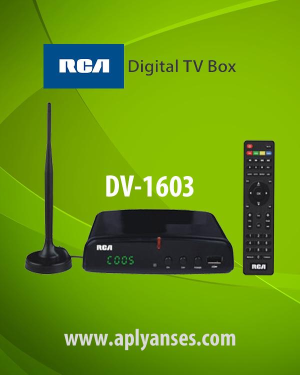 RCA DIGITAL TV BOX DV1603