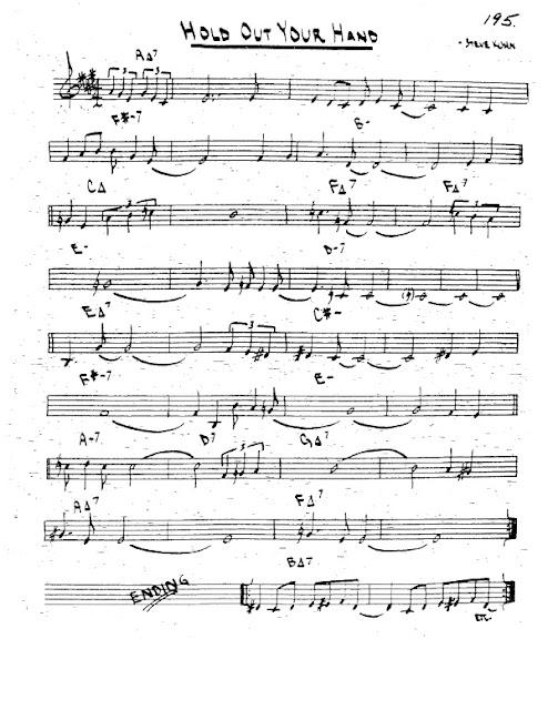 Partitura Trompeta Steve Kuhn
