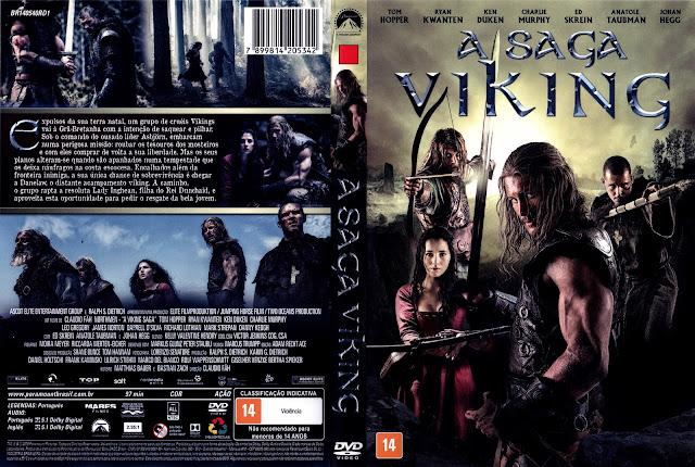 Capa DVD A Saga Viking