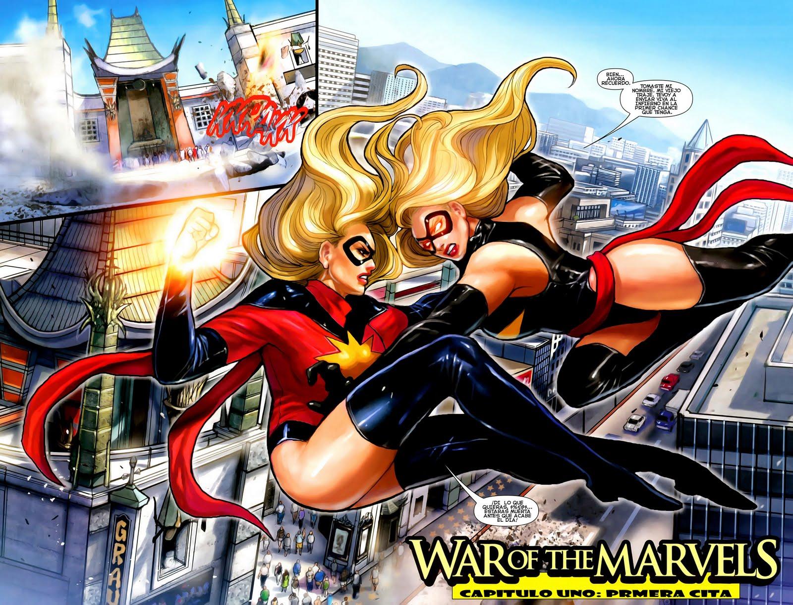 Number 15: Ms Marvel | 50 hottest superhero gals