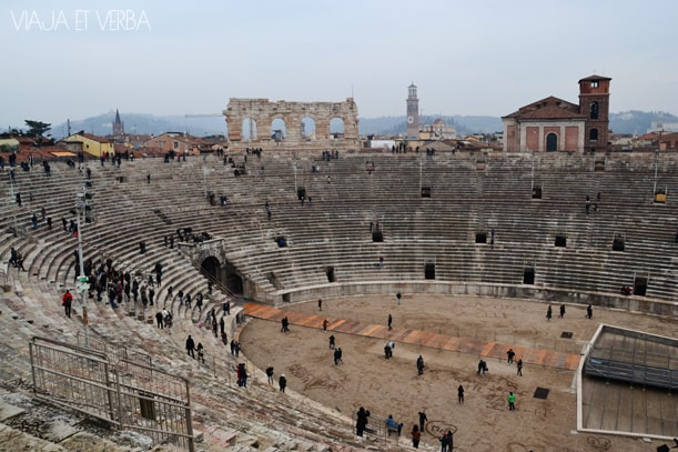 Arena Verona, Italia. Viaja et verba