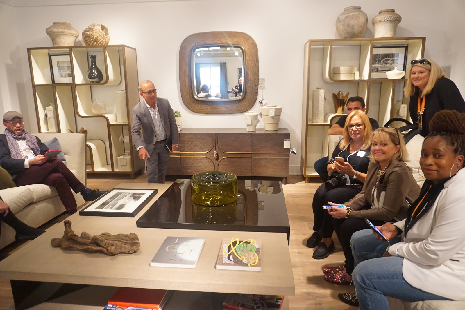 Our Tour With Michael In The Theodore Alexander Showroom At High Point