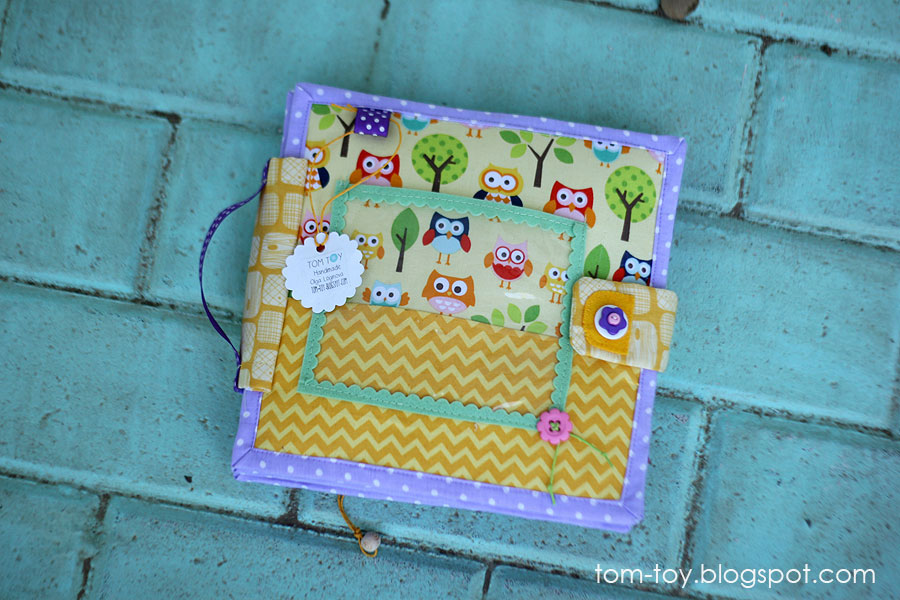 Quiet book busy book for kids by TomToy