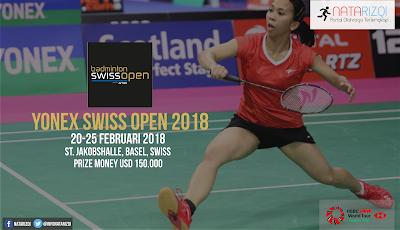 Jadwal Swiss Open 2018