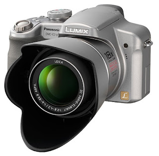Lumix DMC-FZ18, Front View