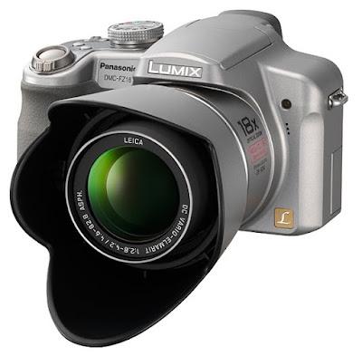 Lumix DMC-FZ18, Front View