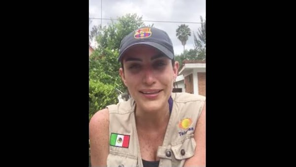 Lo que importa es que todavía hay una persona atrapada en los escombros: Danielle Dithurbide
