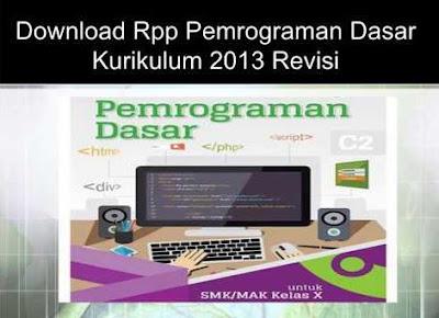 Download Rpp Pemrograman Dasar Materi Perangkat Lunak Bahasa Pemrograman