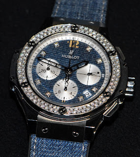 Montre Hublot Big Bang Jeans Diamonds 41mm référence 341.SX.2710.NR.1104.JEANS