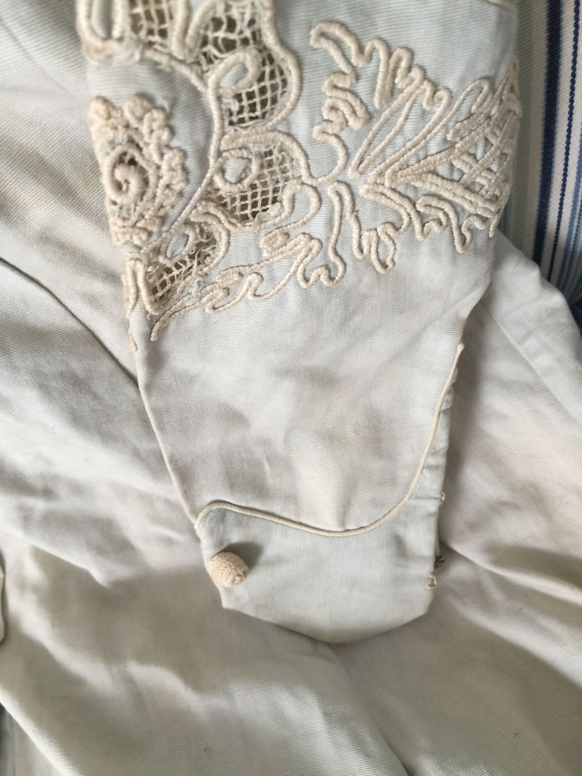 Edwardian Linen Dress Summer