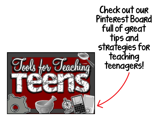 https://www.pinterest.com/iteachthere4iam/tools-for-teaching-teens/
