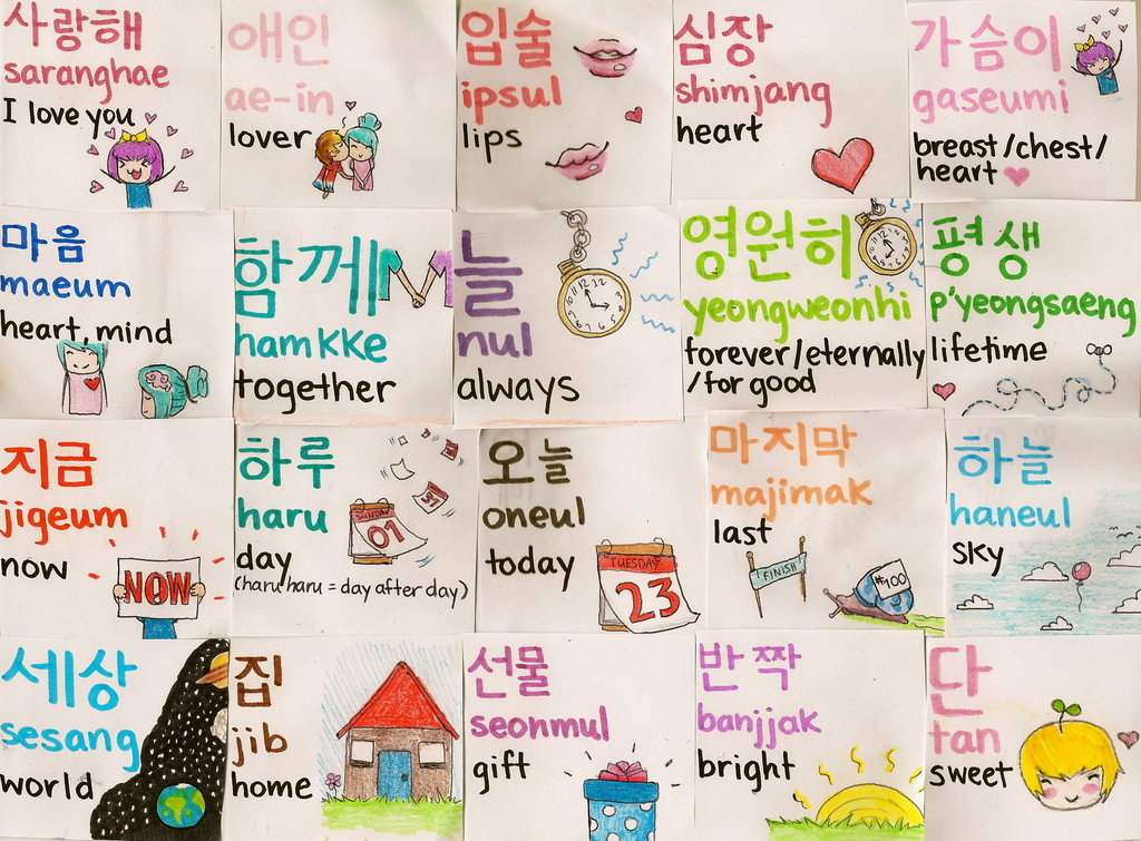 Pre 180 my sji day learn a new language learning of korean korean phrases such as oppa for big brother unnie for elder sister and pogoshipo as i miss you more phrases can be seen from the pictures m4hsunfo