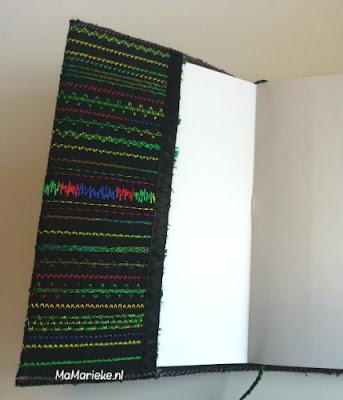 Binnenzijde notitieboekje