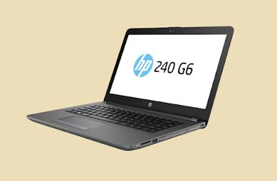 laptop HP 240 G6 berprosesor Intel Core i3 seharga 5 juta rupiah