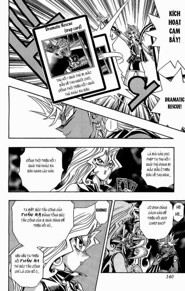 YUGI-OH! chap 221 - vị thần giáng thế trang 15