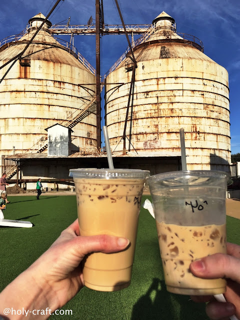 coffee and the silos