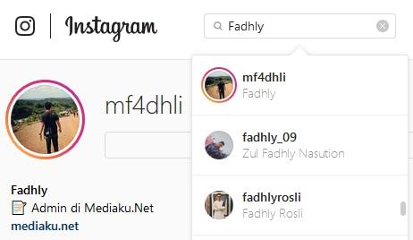Cari Teman Instagram