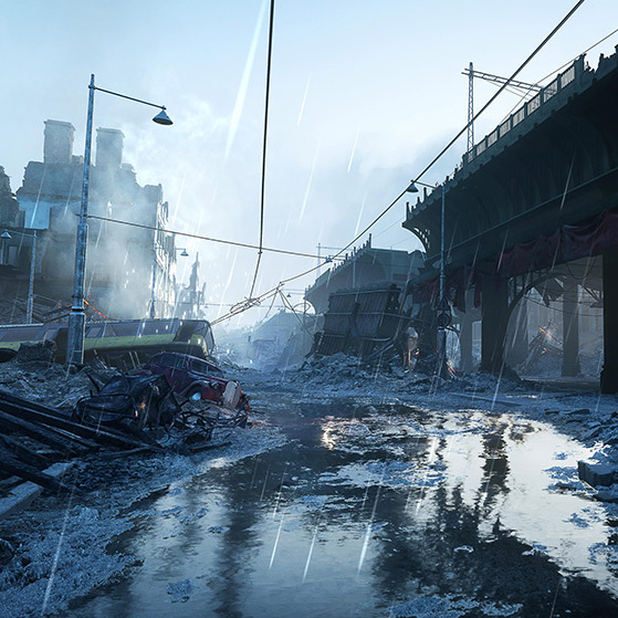 Battlefield V Devastation Wallpaper Engine