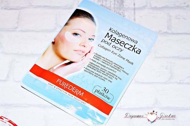 Purederm, Collagen Eye Zone Mask Kolagenowa maseczka pod oczy..