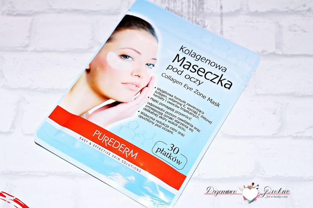 Purederm, Collagen Eye Zone Mask Kolagenowa maseczka pod oczy..