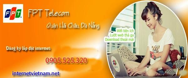 Lắp Mạng Internet FPT Phường Hòa Cường Nam