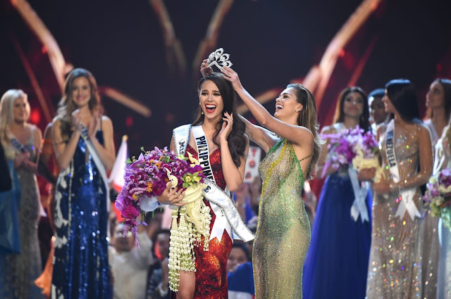 Catriona Gray from the Philippines wins Miss Universe 2018