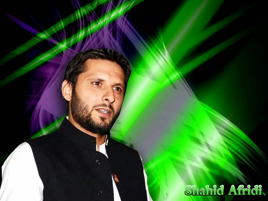 POETRY WORLD: Shahid Afridi HD Wallpapers 2015