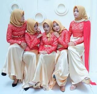 kebaya kutu baru modern hijab