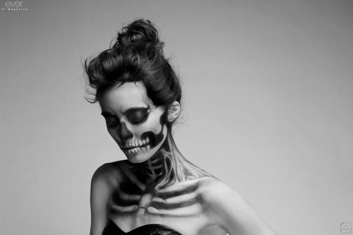 Mademoiselle Mu. Мрачный макияж 7