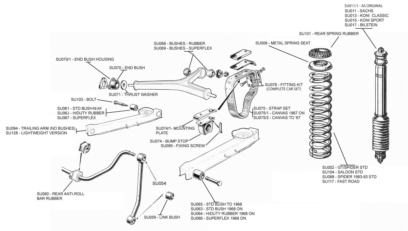 1969 Alfa Romeo 1750 Gtv Restoration August 2018 916 Wiring Diagram Rear Suspension