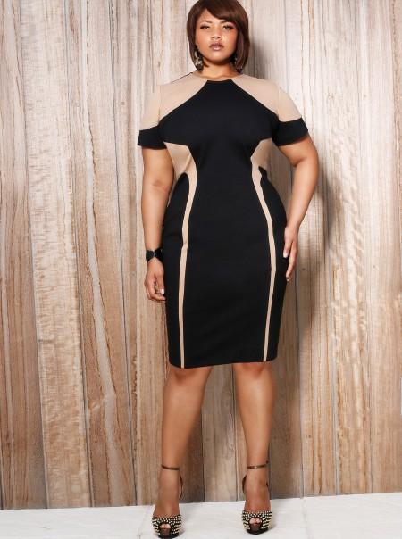 6060629dec Taka sukienka nada figurze seksowny kształt klepsydry. Dekolt typu woda  zwraca uwagę na piękną skórę i szyję