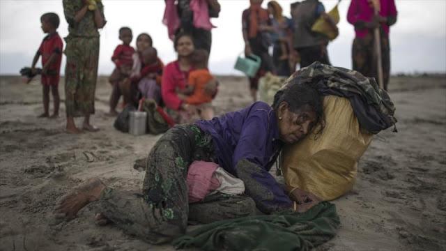 ONU: Cifra de refugiados rohingyas en Bangladés ya llega a 700.000
