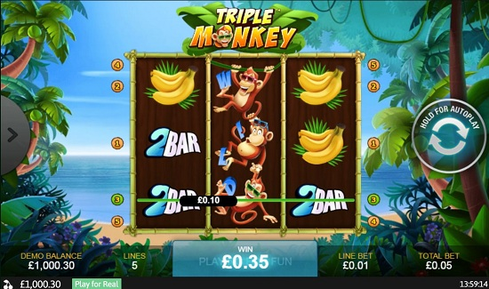Đánh giá về Triple Monkey