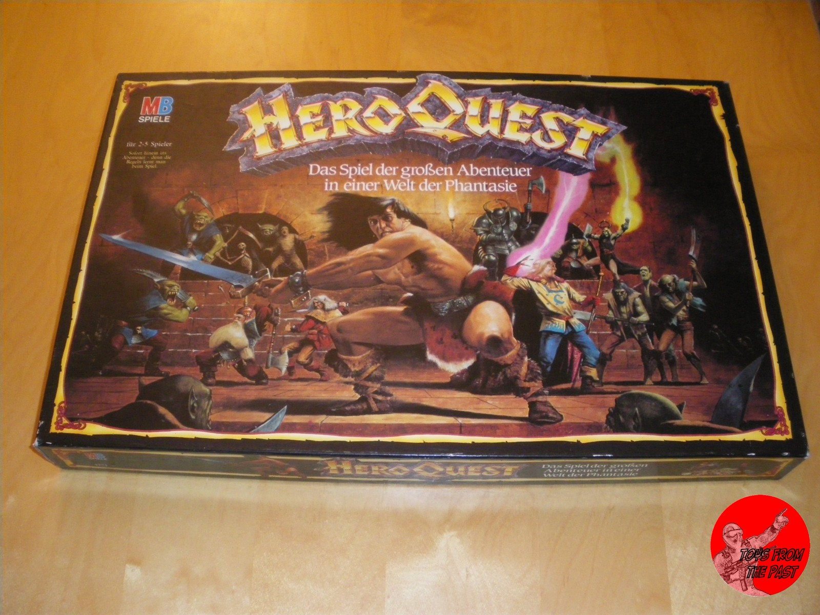 Toys From The Past 83 MB HERO QUEST EXPANSION SETS
