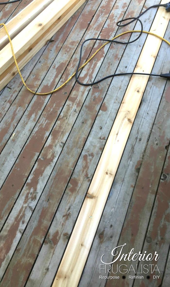 Budget-Friendly Deck Restore Replacing Rotten Wood Boards