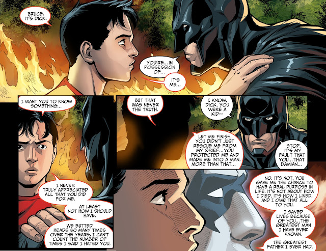 Dick Grayson thanks Batman