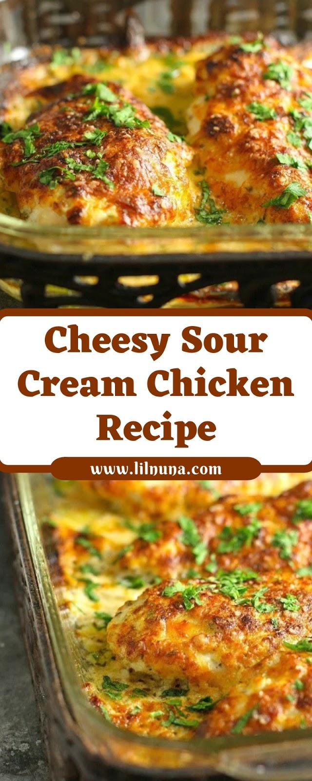 Cheesy Sour Cream Chicken Recipe