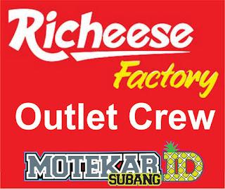 Info Loker Richeese Factory Outlet Crew (Subang) Maret 2019