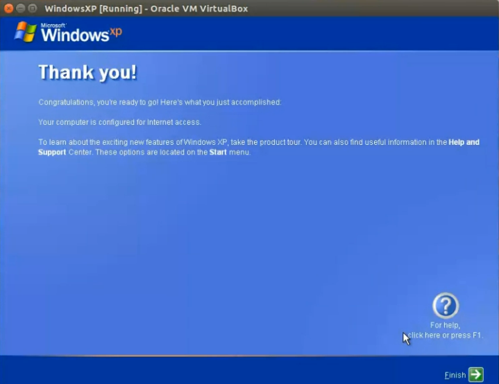 How to install Windows XP in Ubuntu Virtualbox (step by step for