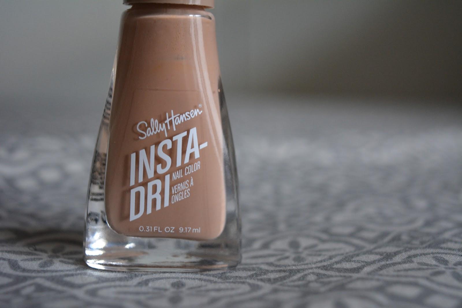 Sally Hansen Insta-Dri Nail Polish nude shade