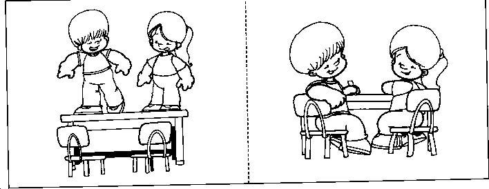 Dibujos De Normas De Convivencia Escolar Imagui