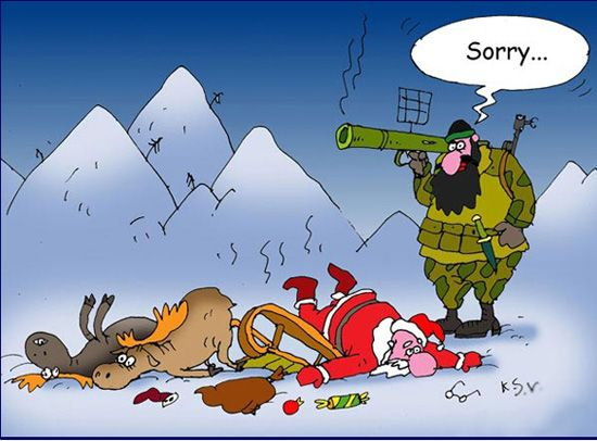 funny christmas cartoon images
