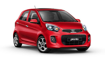 KIA Picanto right side pose